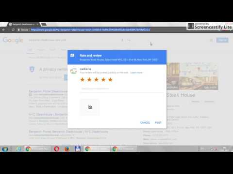 Google Reviews Business: Write a review link