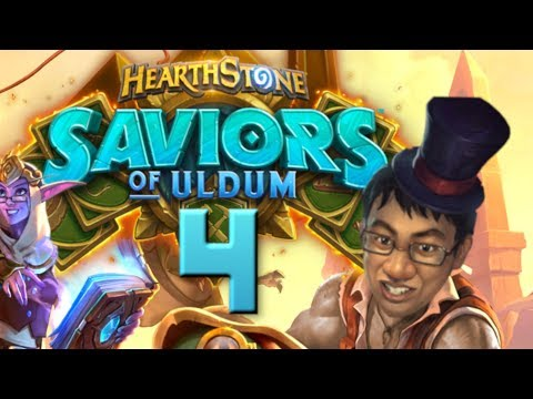 Saviors Of Uldum Review #4 - 2 NEW PLAGUES! | Hearthstone