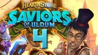 Saviors of Uldum Review #4 - 2 NEW PLAGUES! | Hearthstone