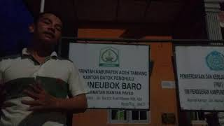Doktoro Esperanto Mempromosikan Gampong Manyak panyek Ke Lima Benua