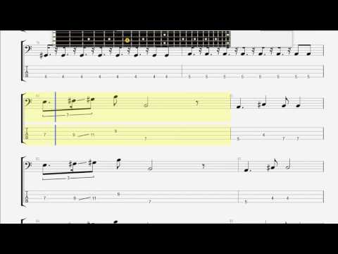 Cars, The   Just What I Needed BASS GUITAR TAB