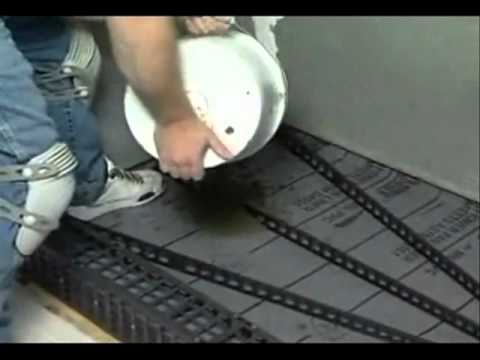 Build Perfect Shower with Quick Pitch and Vinyl Waterproofing 2of2
