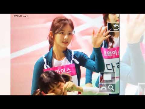 TWICE Tzuyu at Idols Star Athletics Championship TWICE 偶像运动会 180106 【Once being】
