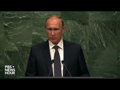 Russian President Putin's full address to United Nations