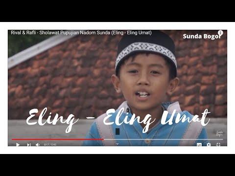 Sholawat Sunda Eling Eling Umat Calon Hafiz Bogor Rival Rafli Gunung Salak Bersholawat
