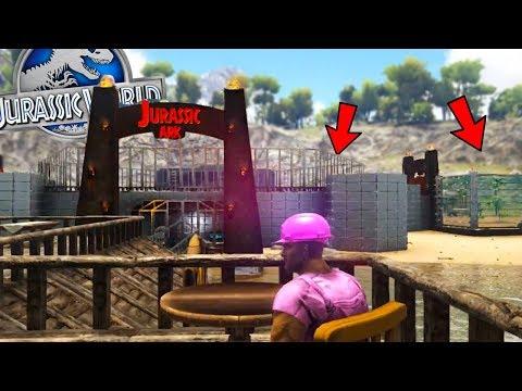 EPIC DINOSAUR ARENA! BAR & GRILL! - (S2E6) Ark Survival Evolved Jurassic World