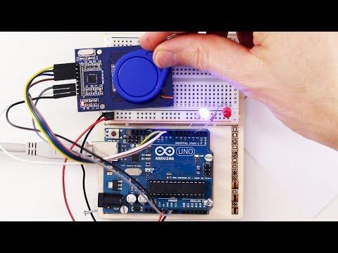 RFID Am Arduino Auslesen Mit MFRC-522 Card Reader