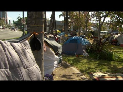 Homeless crisis in Hawaii sparks state of emergency