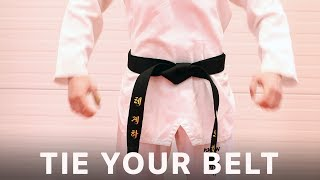 DO IT RIGHT! - Taekwondo Belt