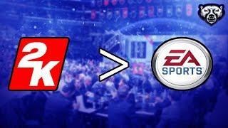 Why I Prefer NHL 2k to EA NHL
