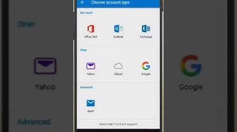 Exchange Email Setup on Android
