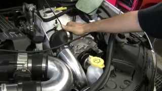RIPP Supercharged 2014 SRT Jeep with Long Tube Headers and Exhaust
