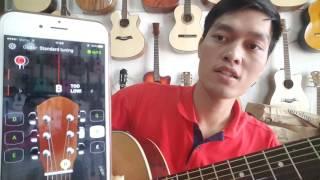 Chỉnh dây đàn FREE - GuitarTuna