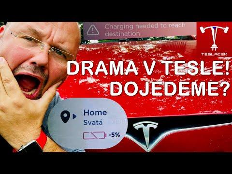 #106 Drama v Tesle! DOJEDEME? | Teslacek