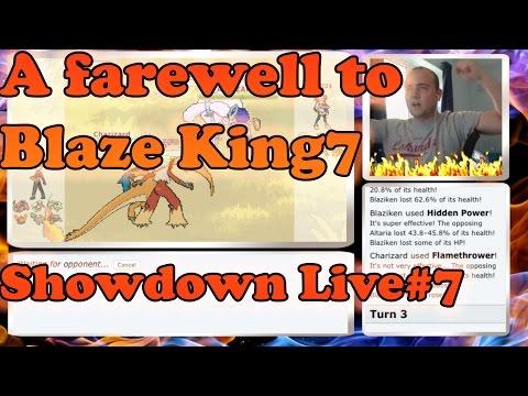 A Fitting Tribute to Blaze King7! VGC 2015 [ORAS] Showdown Live #7