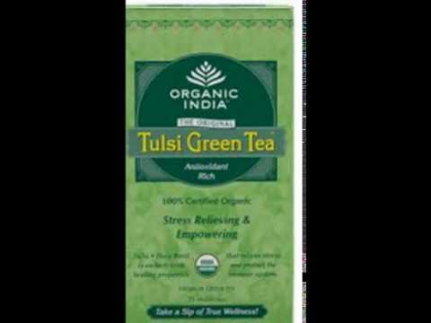Organic India Tulsi Green - 25 Tea Bags