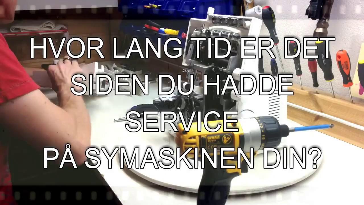 service singer symaskin
