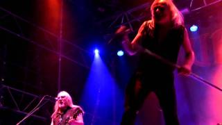 URIAH HEEP - Live at Sweden Rock Festival (2009) Mick Box - guitar,...