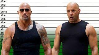 Vin Diesel Height - He's a BIG Guy!