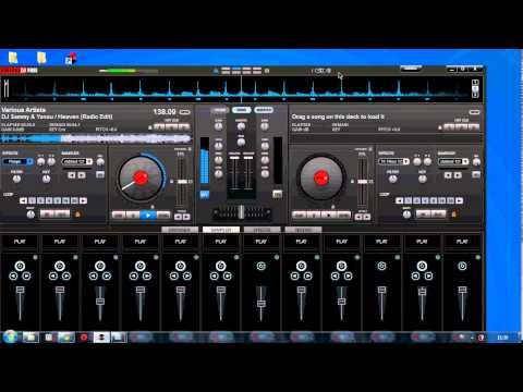 Virtual DJ - Pertama kali remix