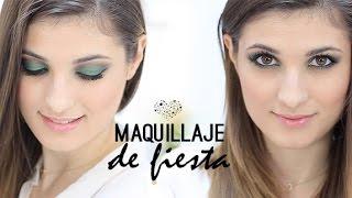 Maquillaje De Fiesta Paso A Paso | En Tono Verde