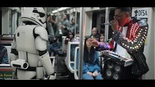 I'm in the Star Wars commercial!!