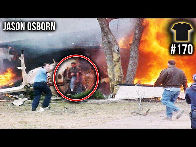 I Survived A Burning Plane Crash | Jason Osborn | Bought The T-Shirt Podcast #170