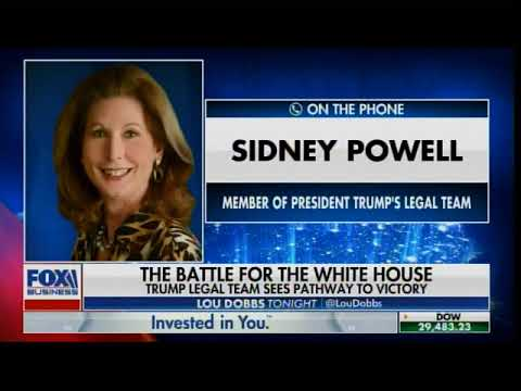 Attorney Sidney Powell on Germany Discusses the Germany Raids of the SCYTL Servers with Lou Dobbs
