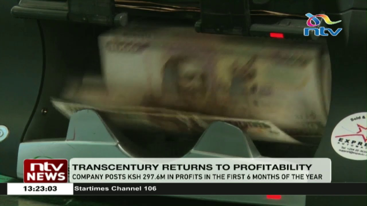 TransCentury posts KSh 297 6M in profits in first 6 months of 2019