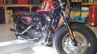 Harley Davidson 48: Joker air-cleaner installation