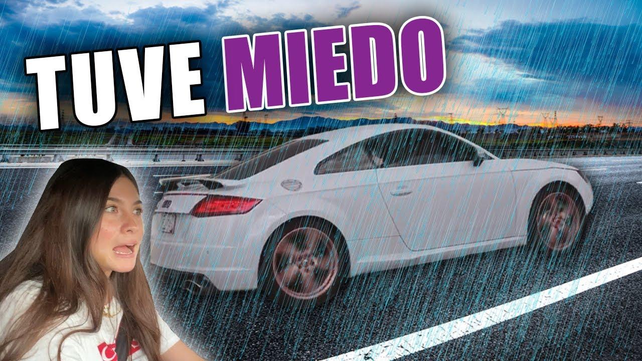 PRIMERA VEZ MANEJANDO EN CARRETERA CON MI AUDI TTRS DE 700HP    ANDREA NAVARRO