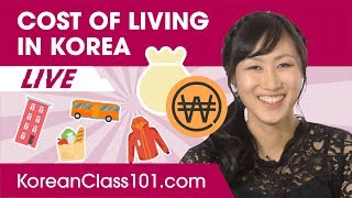 Cost of Living in South Korea | Learn Korean