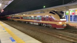 【ジョイント音】E653系K70編成 「燭台切光忠号」返却回送、泉駅を通過
