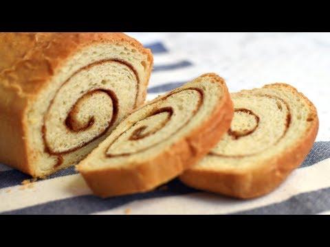 CINNAMON SWIRL BREAD /CINNAMON RAISIN BREAD In 4 SIMPLE STEPS