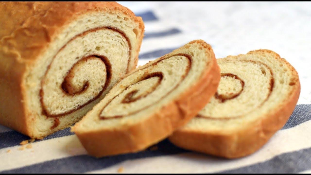 Cinnamon Swirl Bread Cinnamon Raisin Bread In 4 Simple Steps Youtube