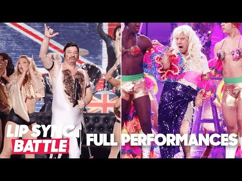 "Jeff Ross' ""Fat Bottomed Girls"" vs. Rob Schneider's ""I Will Survive""  Lip Sync Battle"