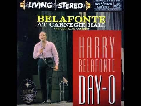 Harry Belafonte - Day-O In Concert at Carnegie Hall on Stereo 1959 RCA Victor Records.