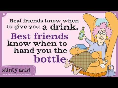 Aunty Acid Real Friends YouTube