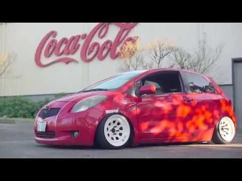 Камера заднего хода SPD 72 для Toyota Yaris - YouTube