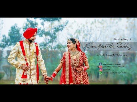 Sikh Wedding  Cinematic Highlight  komalpreet & shehbaz