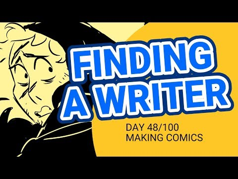 Finding a Creative Partner is Hard - 100 Days of Making Comics - DAY 48