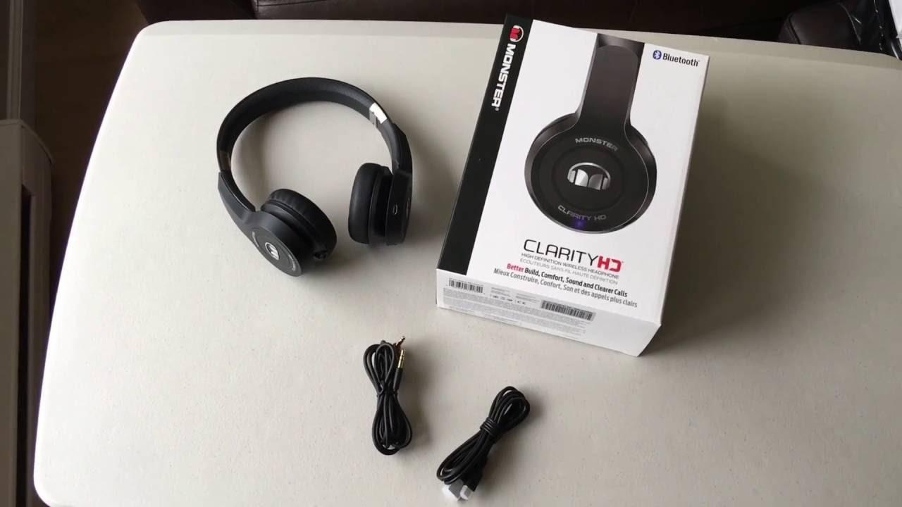 Monster Clarity HD Bluetooth Wireless In-Ear Black