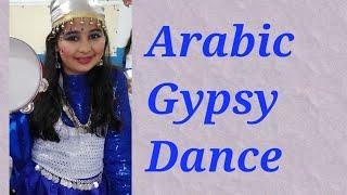 Arabic gypsy dance | school group dance || dance choreography