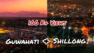 Guwahati City vs Shillong City||Comparison|| by Exploring the World