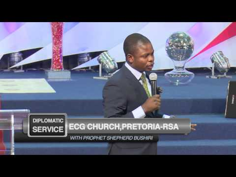 3 Levels of Anointing Part 1 of 3 -Prophet Shepherd Bushiri