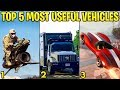 Top 5 Most Useful & Fun Vehicles In GTA Online (2018 Updated)