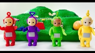 Teletubbies Play with Magic Hill Toy