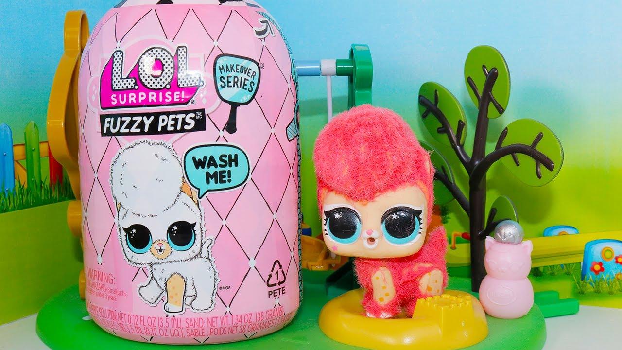 Куклы лол и их новые питомцы! Видео про куклы lol dolls ...