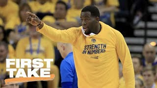 Draymond Green Needs To Keep His Cool In NBA Finals | First Take | May 26, 2017