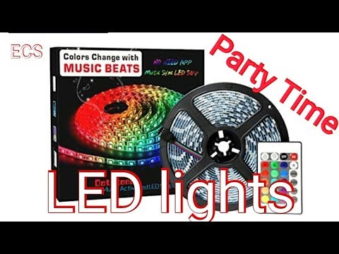 2M/6Ft LED Light Strip Review   Waterproof&Fireproof and Sync to Music by  DotStone